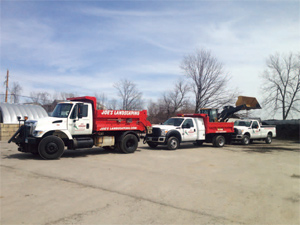 Joe's Landscaping Trucks